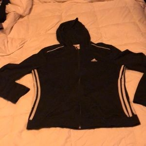 Lightweight Adidas zip up hoodie